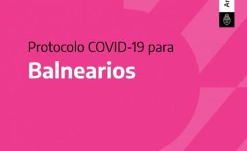 Protocolo COVID-19 para Balnearios