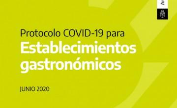 Protocolo COVID-19 para Establecimientos gastronómicos