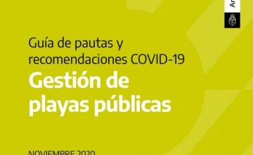 Protocolo COVID-19 para Playas Públicas