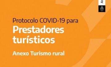 Protocolo COVID-19 para Turismo rural