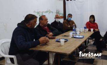 Reunión con el Intendente Sánchez y Fomento de Reta
